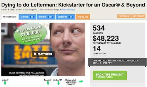 Kickstart 14 days left
