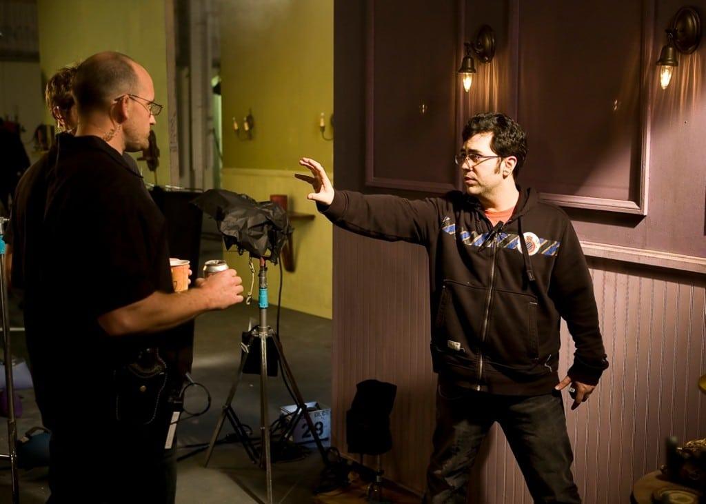 Cinematographer Adam Sampson Shoots RED on Scream Queens