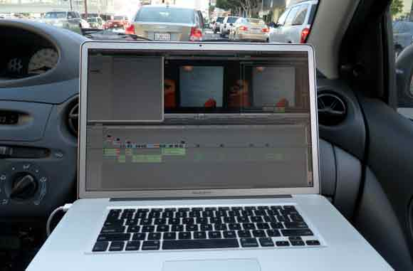 How to Edit Your Project While Driving to Vegas