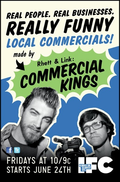 Commercial Kings on IFC Premieres Tonight