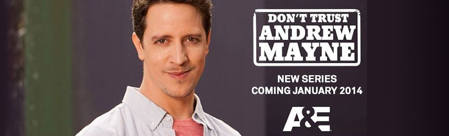 Our New Show Don't Trust Andrew Mayne Announced in Variety